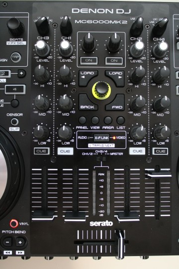 Denon MC6000 MK2 - Mixersektion