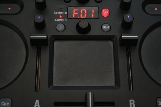Korg Kaoss DJ - XY Touchpad zur Effektsteuerung