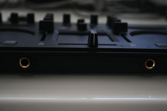 Korg Kaoss DJ - Kopfhörer- und Mikrofonanschluss