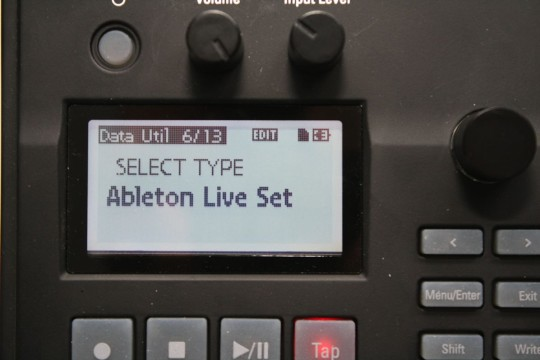 Korg Electribe Sampler - Ableton-Live-Export