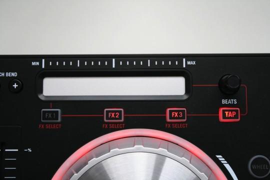 Numark Mixtrack Pro 3 - Effektsteuerung per Tauchstrip