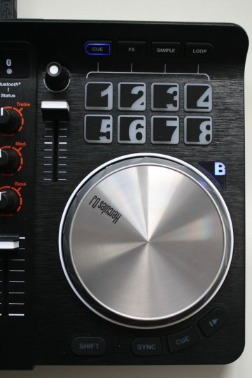 Hercules Universal DJ - Decks mit Jog-Wheels