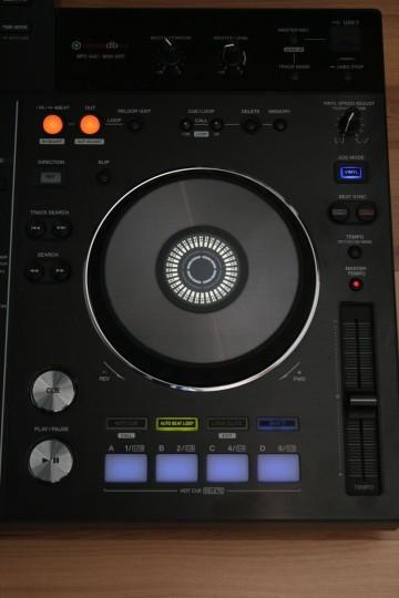 Pioneer XDJ-RX - Deckausstattung