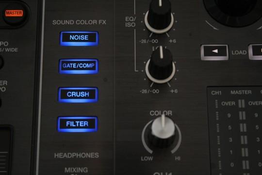 Pioneer XDJ-RX - Sound-Color-Effekte
