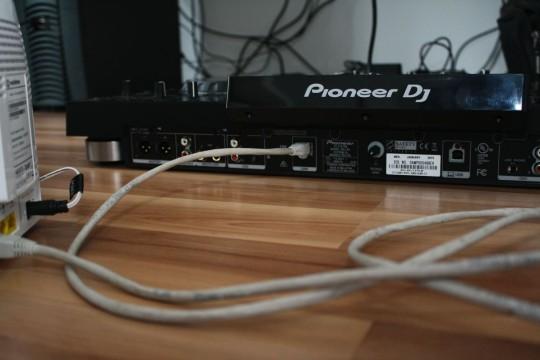 Pioneer XDJ-RX - Netzwerkverkabelung