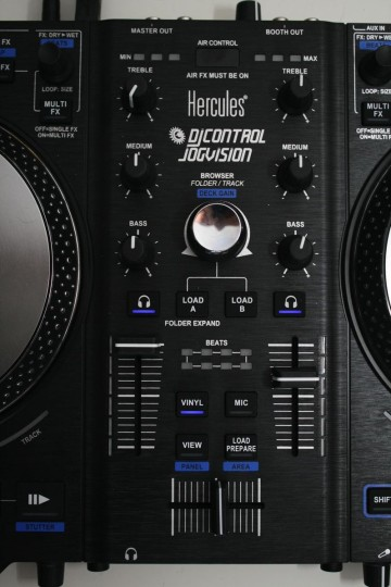 Hercules Jogvision - Mixer inkl. Air FX