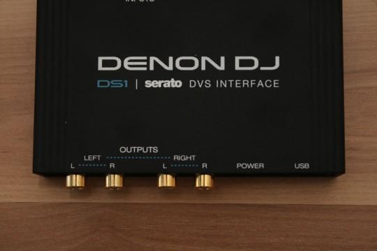 Denon DJ - DS1 - Ausgänge