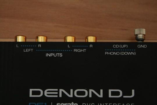 Denon DJ - DS1 - Eingänge