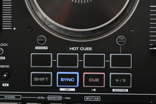 Denon DJ - MC4000 - Hotcue-Tasten
