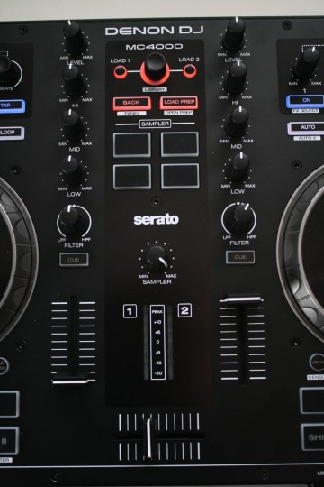 Denon DJ - MC4000 - Mixerbereich