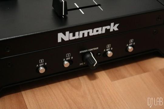 Numark NS7 III - Crossfader-Einstellungen