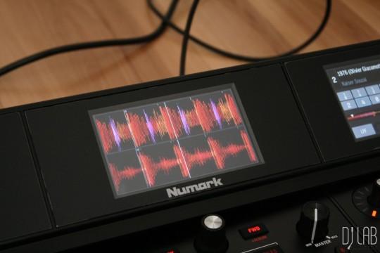Numark NS7 III - Parallele Wellenformdarstellung