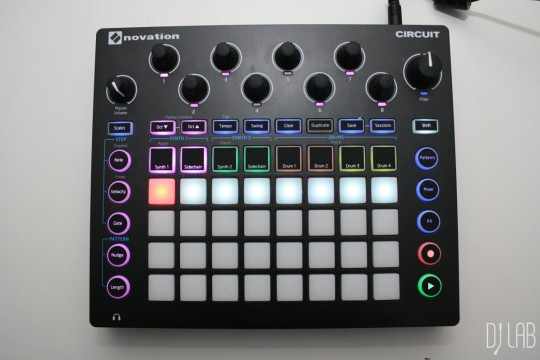 Novation Circuit, Sidechain-Funktion