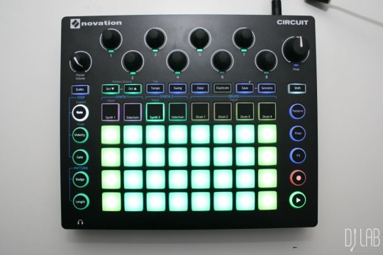 Novation Circuit, Synth-Programmierung