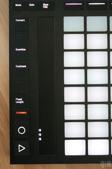 Ableton Push 2 - Touchstrip