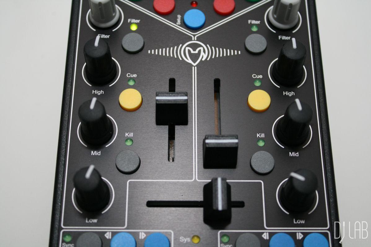 Faderfox DJ4 - Fader und Crossfader