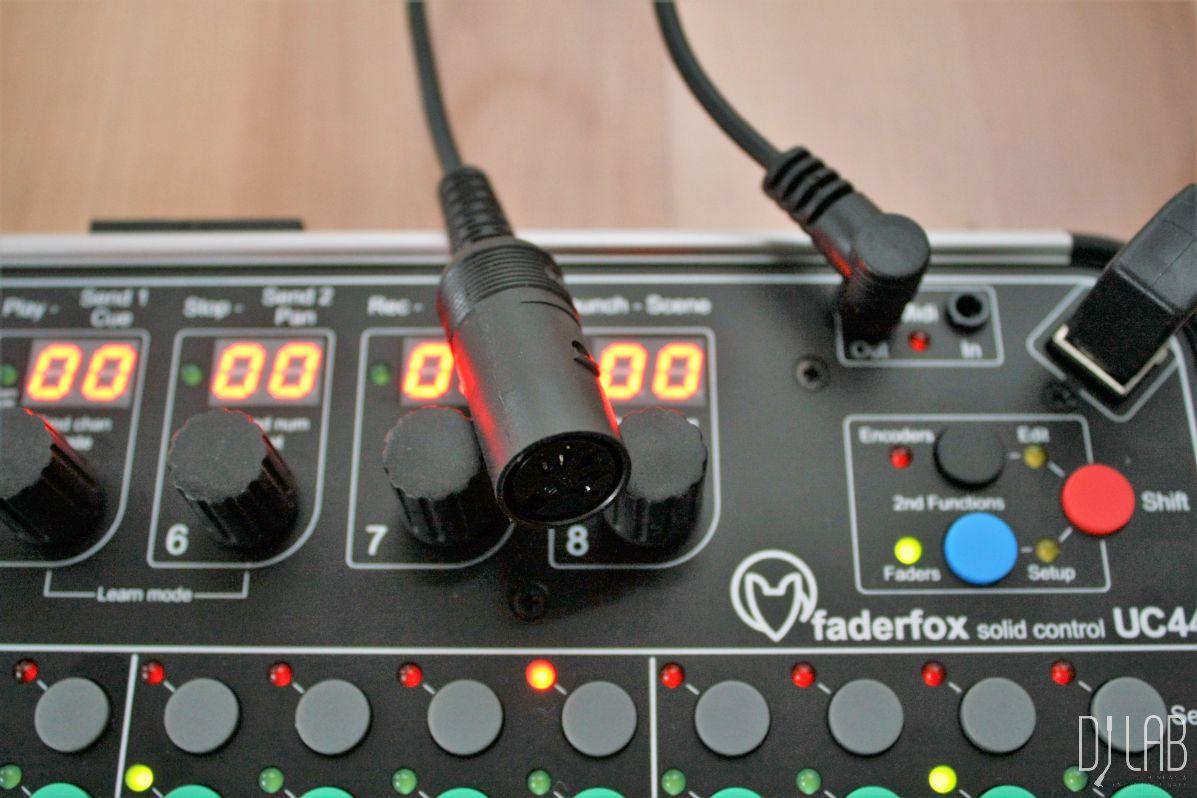 MIDI-Buchsen