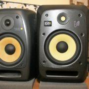 Studiomonitore KRK VXT8 vs KRK V8 S4
