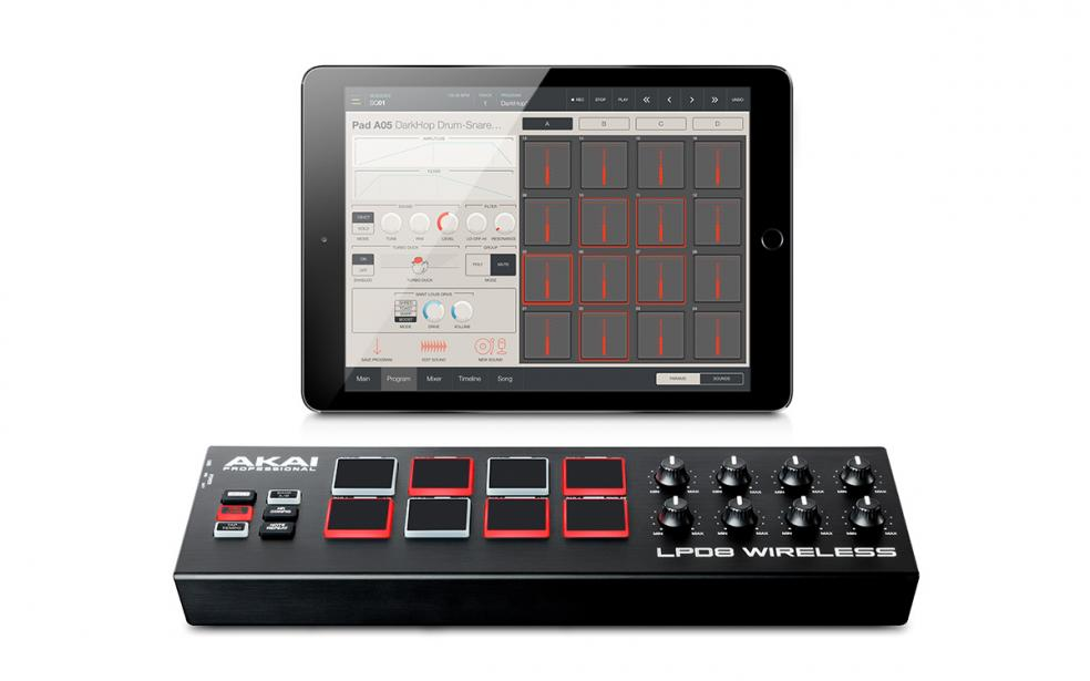 Akai LPD 8 Wireless