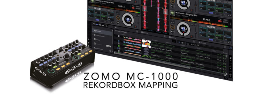 Zomo MC-1000 MIDI Mapping
