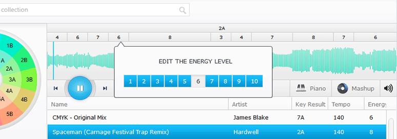 Energy Level Anzeige