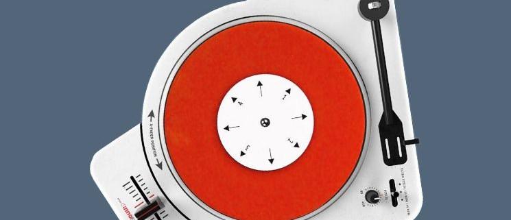"""Plattenspieler 7"""" Portable Scratch"""