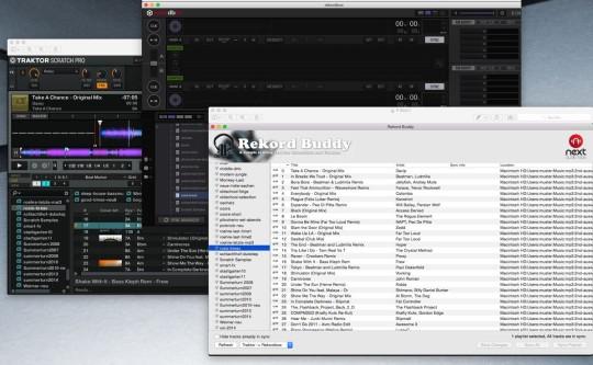 Rekord Buddy synchronisiert die Songdaten zwischen Traktor Pro und Rekordbox