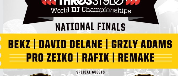 Red Bull Thre3style 2016 German National Finals