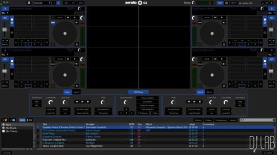 Numark NS7 III - Serato DJ MIDI-Programmierung