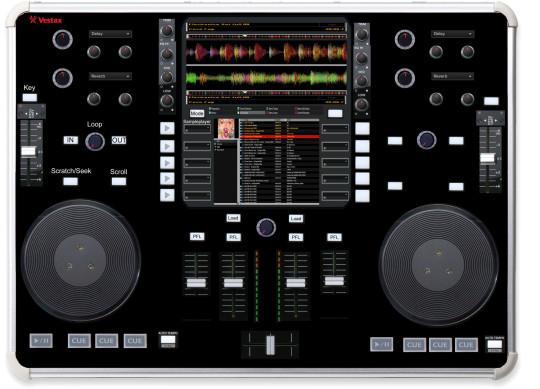 Touchscreen-Mediaplayer
