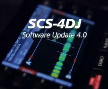 SCS-4Dj Firmware 4.0