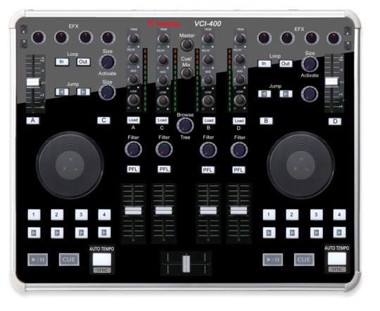 VCI-400 Layout-Entwurf (Photoshop)