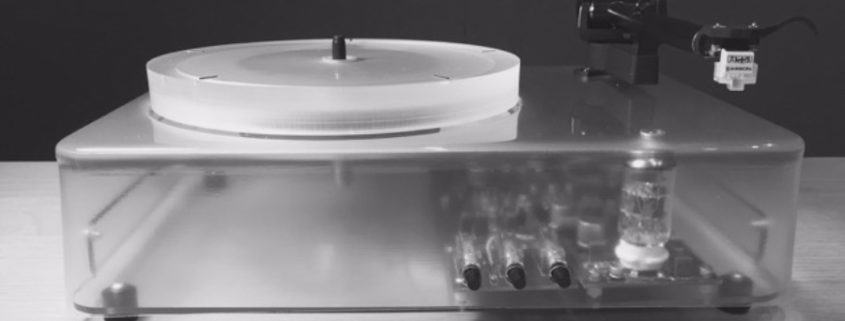 Turntable mit WiFi und Bluetooth