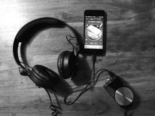 iPhone und Griffin dj connect iOS Soundkarte