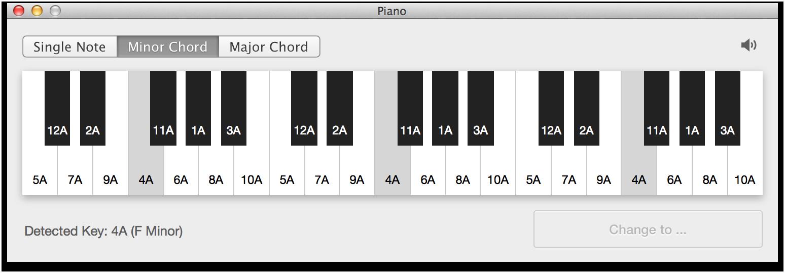 Mixed in Key Piano
