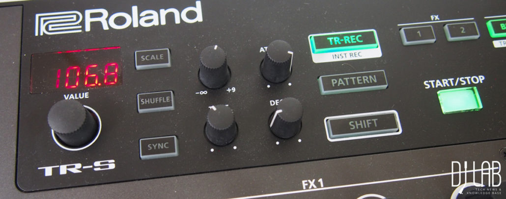 roland-dj808-test-review-tr-sektion-regler