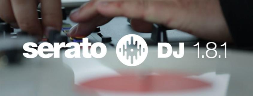 Serato DJ Update 1.8.1