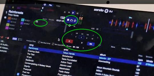 Flip Parameter in Serato DJ (Offline Modus)