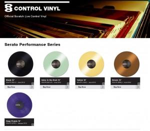 Serato Scratch Live Performance Control Vinyl