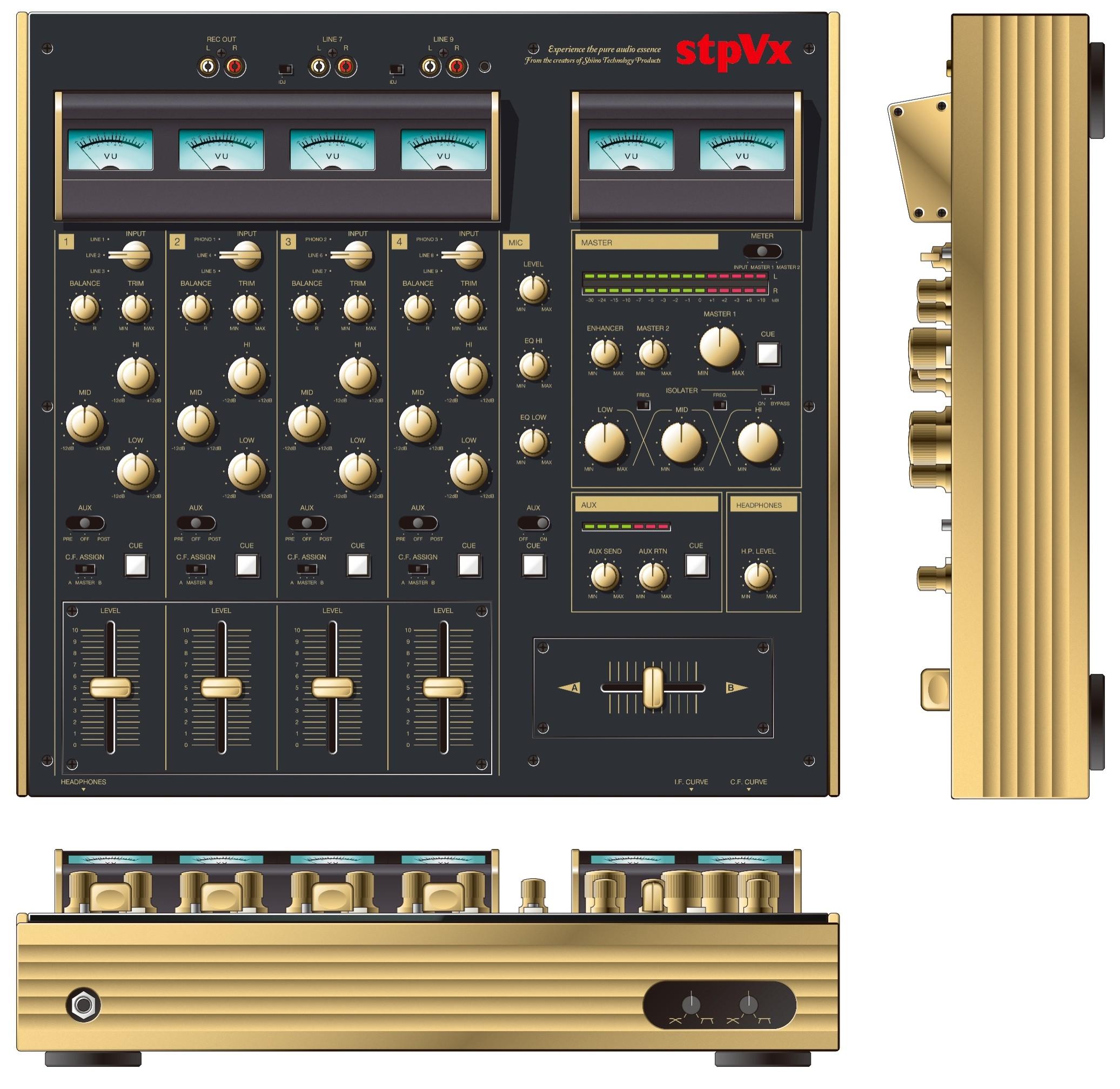 STPVX 4-Kanal Mixer