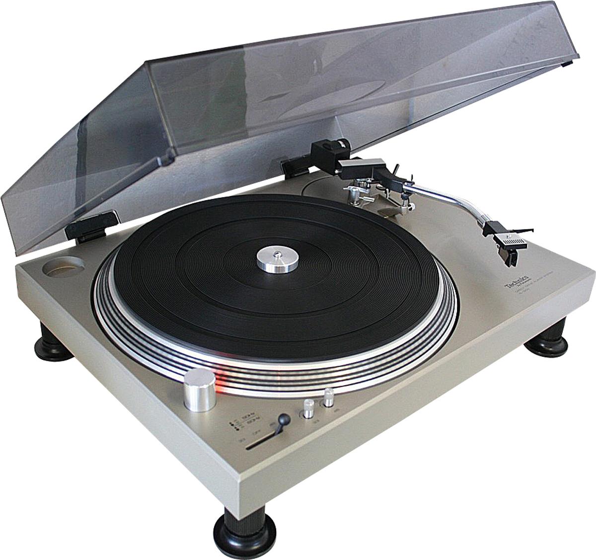 Der Original Technics 1200 von 1973.