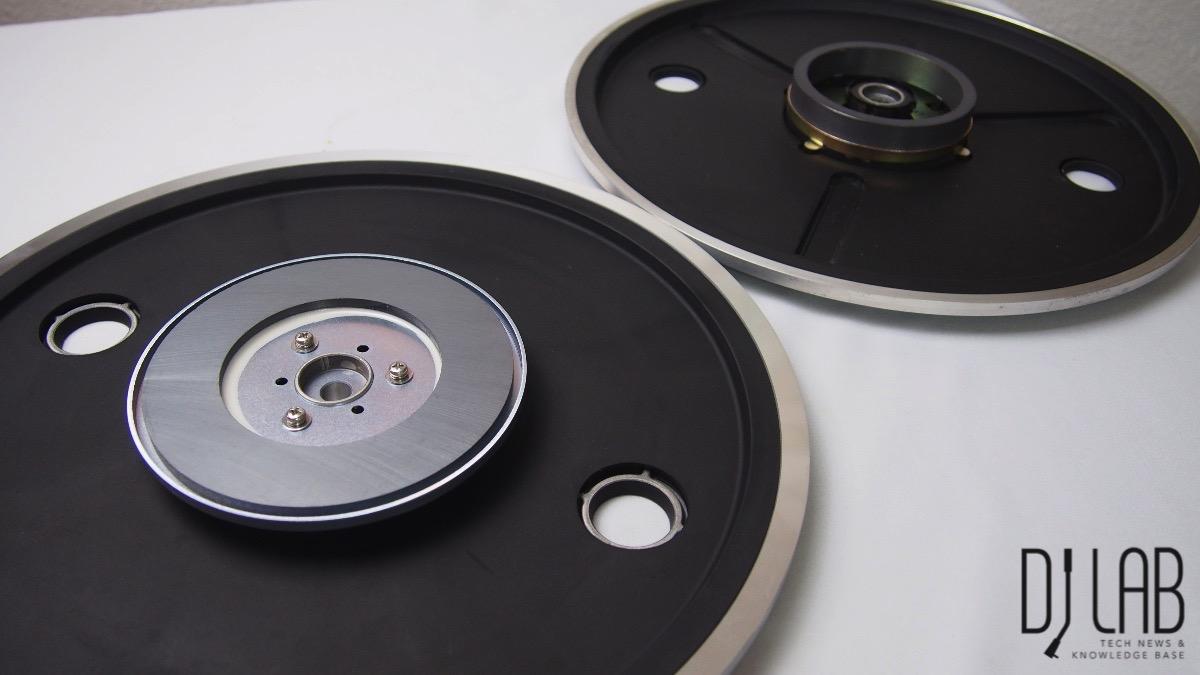 GR Plattenteller (links) vs MK2-Teller