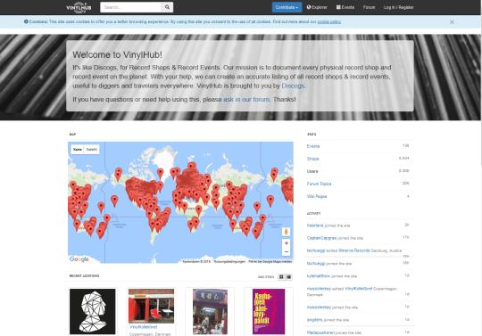 vinylhub-map