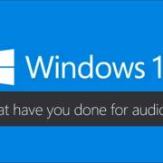 windows 10 und audio